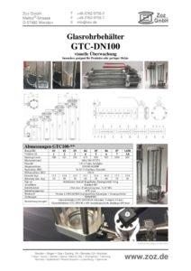 thumbnail of Glasrohrbehälter GTC (D) 1901