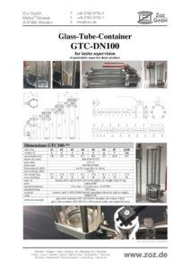 thumbnail of Glasrohrbehälter GTC (E) 1901