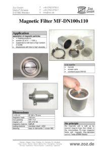 thumbnail of Magnetfilter (E) Kapsel mit Siebeinsatz 2001