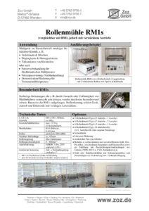 thumbnail of Rollenmühle RM1s (D) 2101